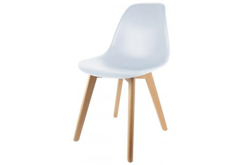 Chaise Enfant Scandinave Blanc BABY FJORD - Chambre lit