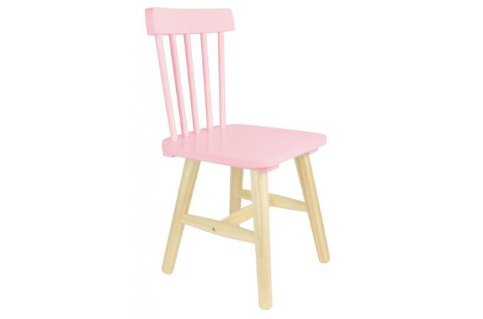 chaise enfant scandinave rose kapla chambre enfant b b pas cher. Black Bedroom Furniture Sets. Home Design Ideas