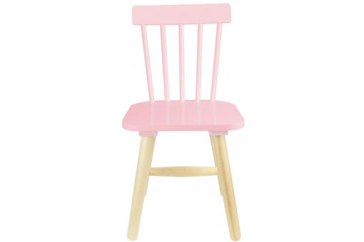 Chaise Enfant Scandinave Rose KAPLA