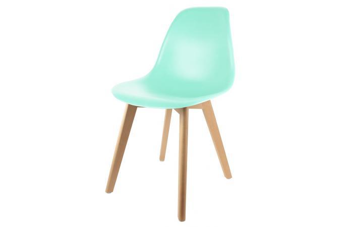 chaise enfant scandinave verte baby fjord chambre enfant b b pas cher. Black Bedroom Furniture Sets. Home Design Ideas