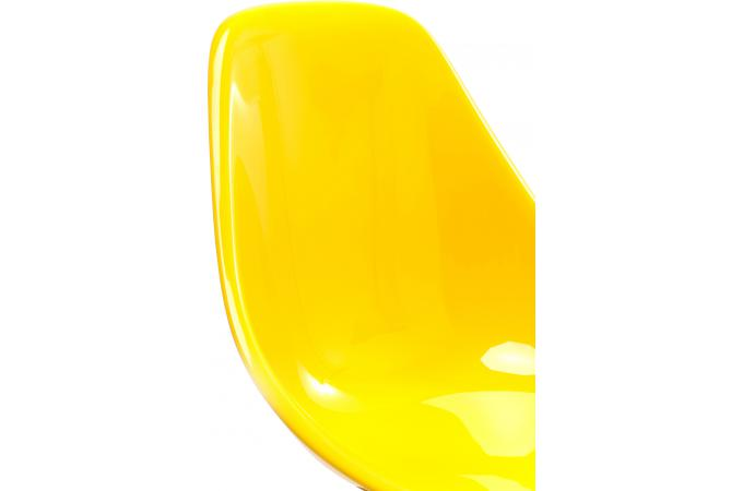 chaise forum jaune r sine design chaise design pas cher. Black Bedroom Furniture Sets. Home Design Ideas