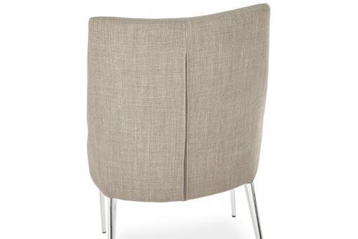 Chaise gris 50x61x87 cm carpenter chaise design pas cher for Chaise 87 cm