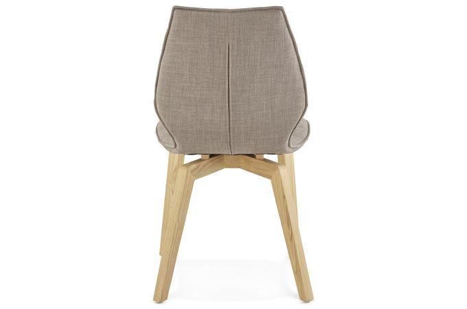 chaise gris clair en tissu style scandinave halo chaise. Black Bedroom Furniture Sets. Home Design Ideas
