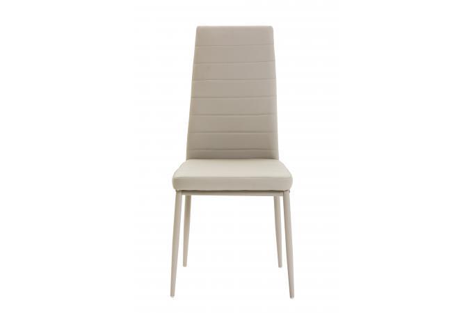 Chaise grise ken chaise design pas cher for Chaise sejour grise