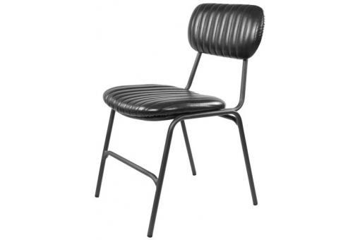 chaise industrielle bleue feray chaise design pas cher. Black Bedroom Furniture Sets. Home Design Ideas