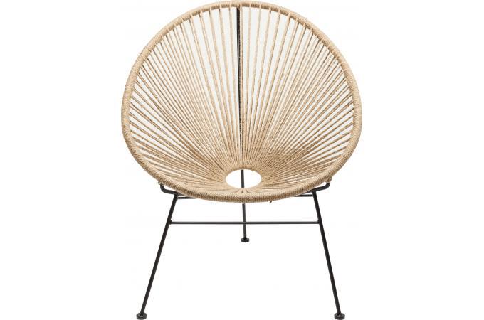 fauteuil kare design lin acapulco chaise design pas cher. Black Bedroom Furniture Sets. Home Design Ideas
