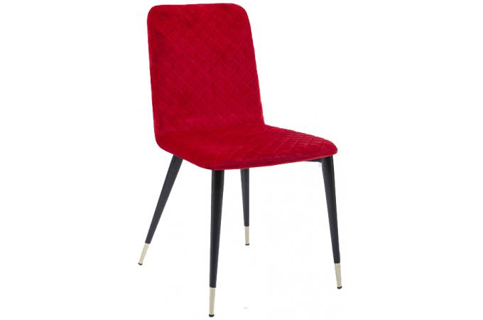 Chaise kare design rouge montmartre chaise design pas cher for Chaise kare design