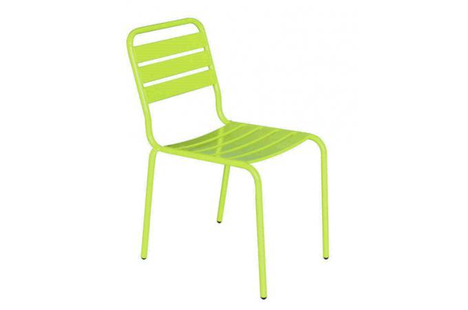 Chaise la chaise longue anis vesce chaise design pas cher - La chaise longue lampadaire ...