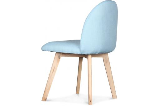 Chaise Design Bleu