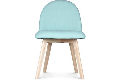 Chaise style scandinave tissu turquoise igor chaise - Chaise style scandinave pas cher ...