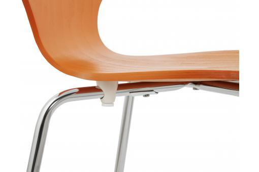 Chaise Design Orange
