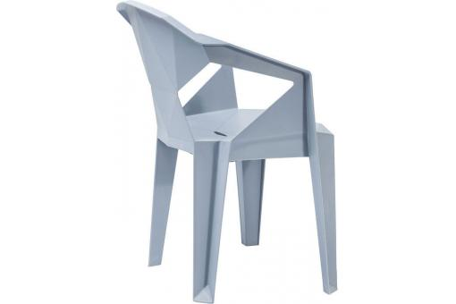 Chaise origami grise GEOMETRICAL