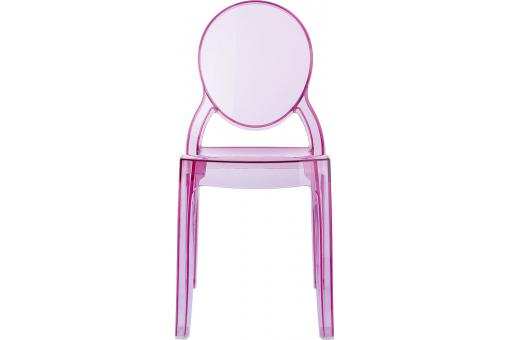 Chaise BABY ELIZABETH Rose Transparent