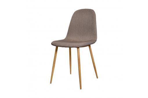 Lot de 4 chaises scandinaves beige hamar chaise design - Chaise beige pas cher ...