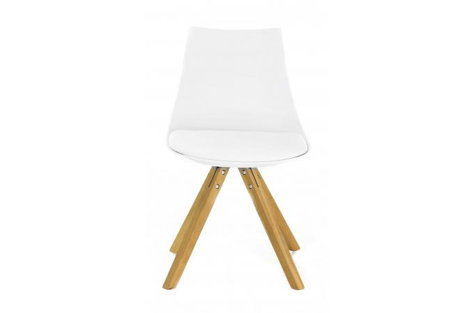 Chaise Scandinave Blanche TURIN Design