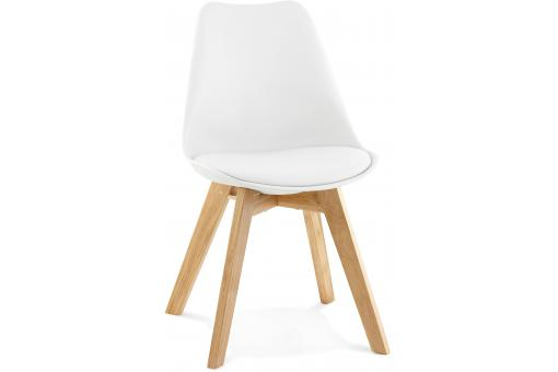 Chaise Scandinave Blanche ROBY