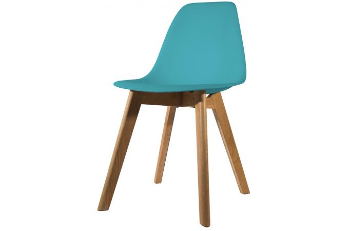Chaise scandinave coque bleue canard fjord chaise design for Chaise coque pas cher