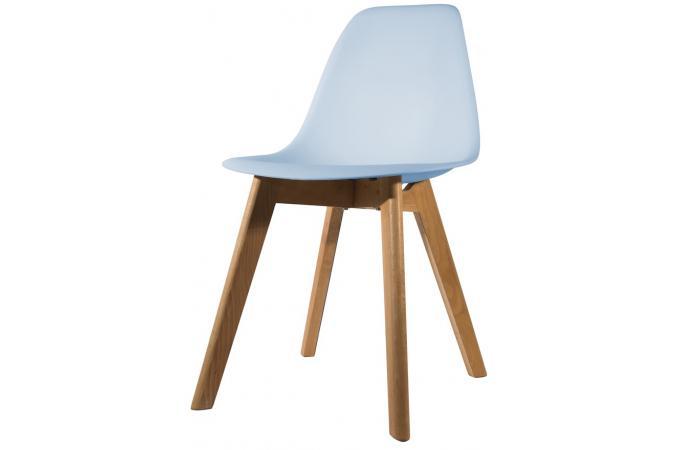 chaise scandinave coque bleue fjord chaise design pas cher. Black Bedroom Furniture Sets. Home Design Ideas