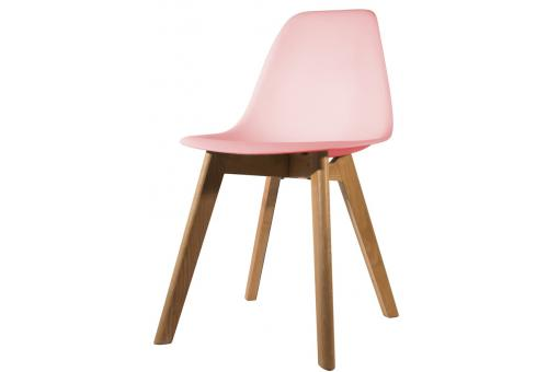 Chaise Scandinave Coque Rose FJORD