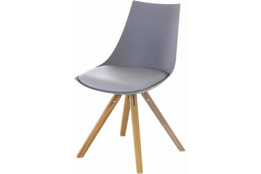 Chaise Scandinave Grise TURIN