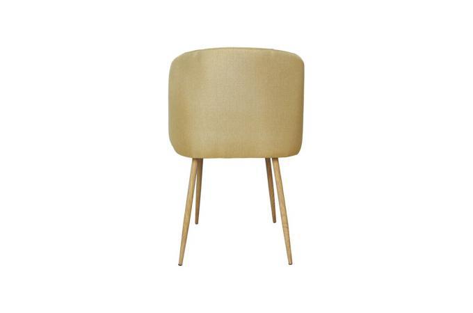 chaise scandinave tissu jaune gilles chaise design pas cher. Black Bedroom Furniture Sets. Home Design Ideas