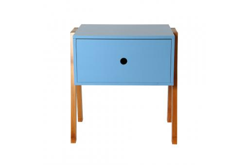 table de chevet empilable bleu ichigo table de chevet. Black Bedroom Furniture Sets. Home Design Ideas