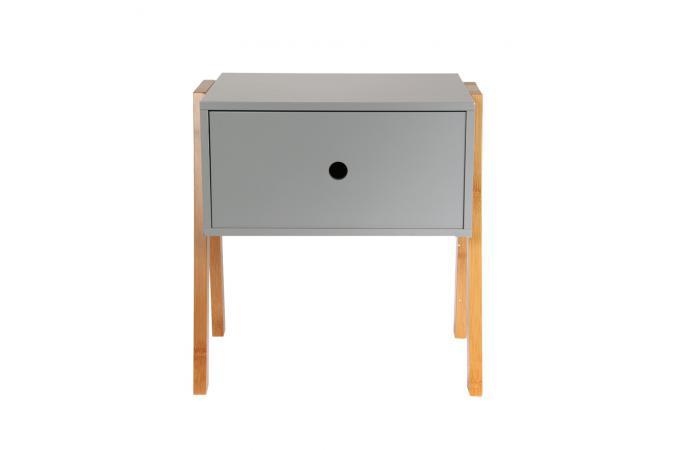 table de chevet empilable gris ichigo table de chevet pas cher. Black Bedroom Furniture Sets. Home Design Ideas