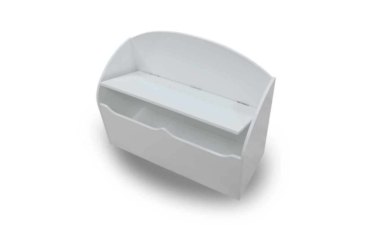 Le Bon Coin Coffre A Jouet coffre à jouets blanc sparks - bac de rangement pas cher