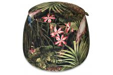 DeclikDeco - Pouf Coffre Jungle FLORENTIN - Inspiration jungle
