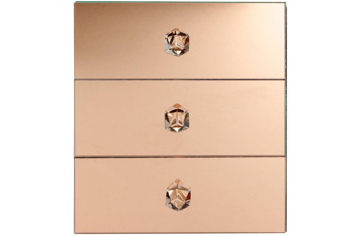 Coffret à Bijoux Effet Miroir ARIES - Boîte de Rangement Pas ...