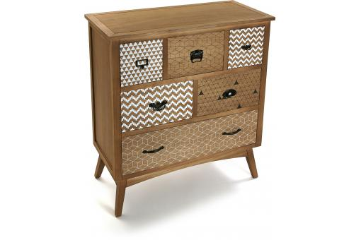 Commode 6 tiroirs BELLO