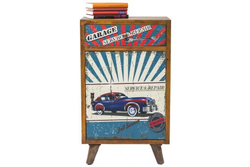 Commode Garage Style 1 Porte 1Tiroire