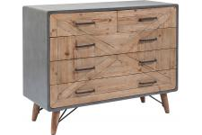 Commode X Factory 5 tiroirs - Deco chambre adulte design