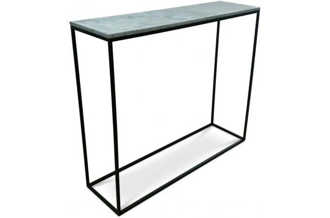 console effet marbre blanc fortune console pas cher. Black Bedroom Furniture Sets. Home Design Ideas