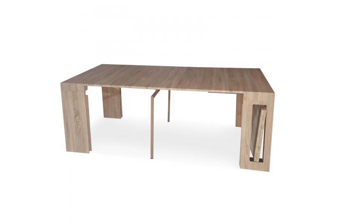 console extensible ch ne clair 300cm mayline table console pas cher. Black Bedroom Furniture Sets. Home Design Ideas