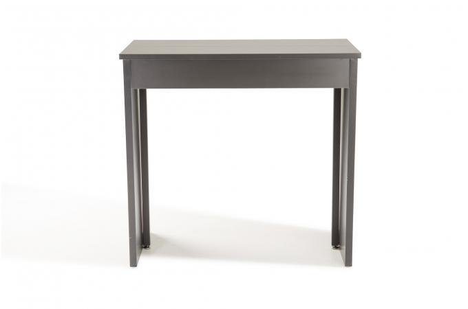 console extensible grise 180cm laqu marie line console. Black Bedroom Furniture Sets. Home Design Ideas
