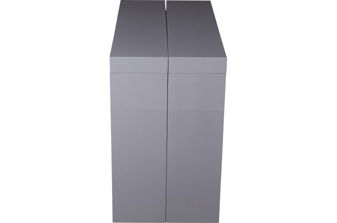 Console Extensible Grise 250cm Laque Enrique Table Console Pas Cher