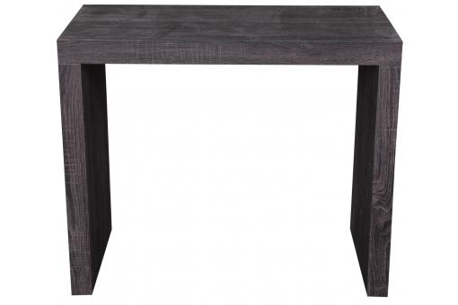 Console extensible 225cm Wenge Mat LINE-WENGE - Table design