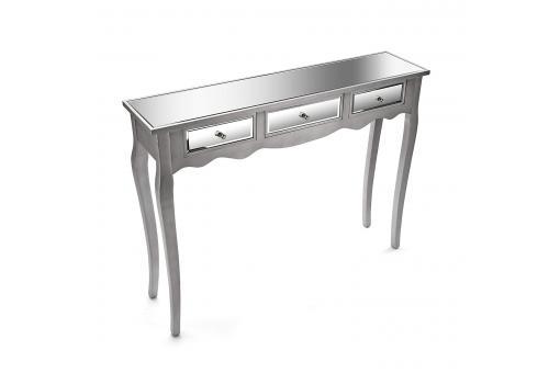 console miroir 3 tiroirs masala console pas cher. Black Bedroom Furniture Sets. Home Design Ideas