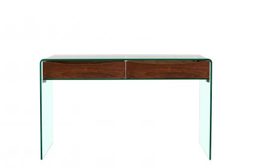 Console Verre FIRNA - Promos table extensible