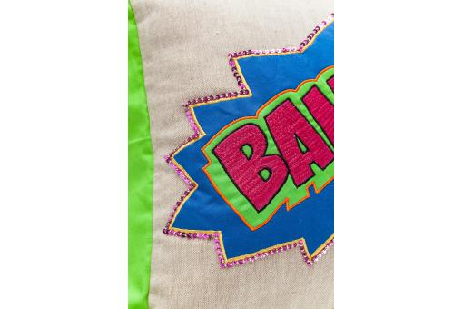 Coussin Cartoon Bang 35x35cm