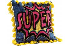 Coussin Cartoon Super 35x35cm - Coussin kare design