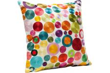 Coussin Circles Multi Colour 45x45cm - Coussin multicolore