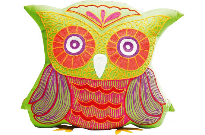 coussin hibou vert bertrand coussin pas cher. Black Bedroom Furniture Sets. Home Design Ideas