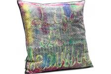 Coussin Life Is Beautiful 45x45cm - Coussin kare design