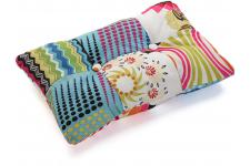 Coussin Rectangulaire Patchwork Multicolore FARLA