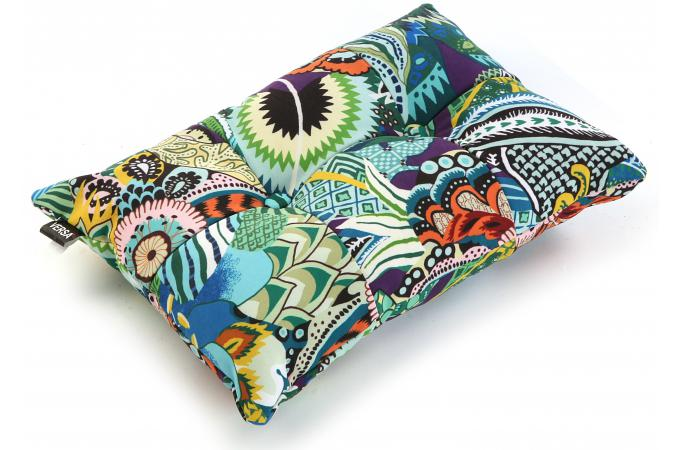 coussin rectangulaire en tissu patchwork tropical coussin pas cher. Black Bedroom Furniture Sets. Home Design Ideas