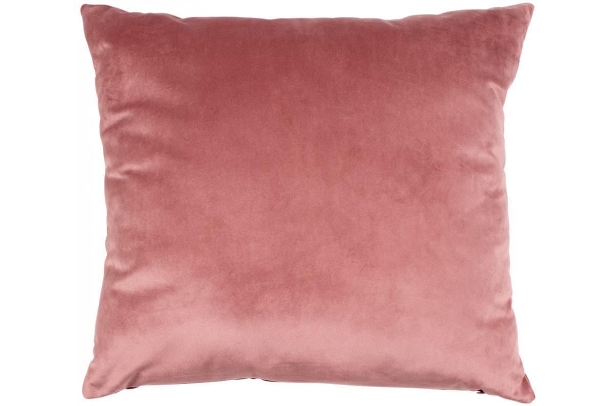 Linge De Maison Bordeaux coussin réversible en velours rose et bordeaux 45x45 cm braga plus d'infos