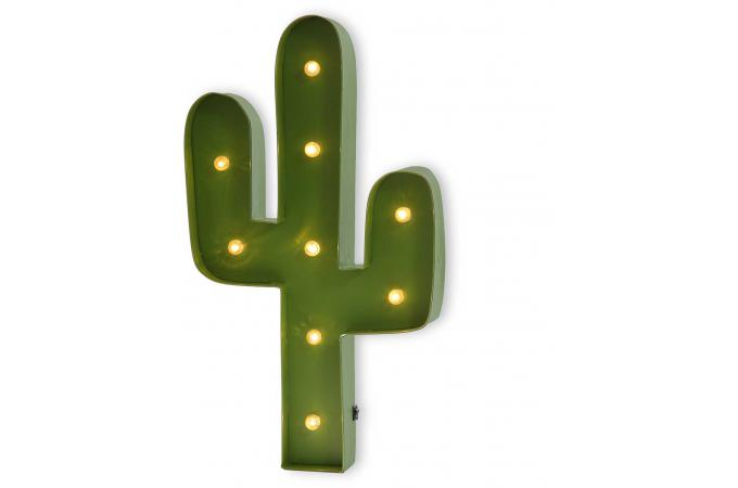 d coration cactus avec led nevada d co lumineuse pas cher. Black Bedroom Furniture Sets. Home Design Ideas