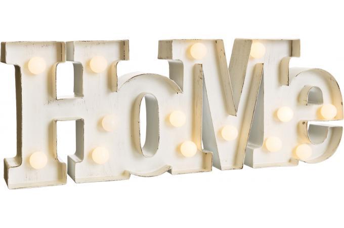 Décoration Murale Home Avec Éclairage Led Symbols - Tableau Pop